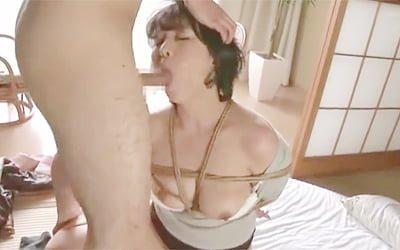 円城ひとみ》SMマニアなエロ本が母親に見つかりキレて近親相関で拘束ドM調教する鬼畜息子!