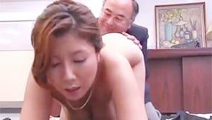 杉浦ボッ樹のハゲ頭と名演技が光る熟女レイプ動画w